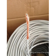 24AWG Cat5e Cable blindado SFTP blindado Ethernet en rollo de 1000FT