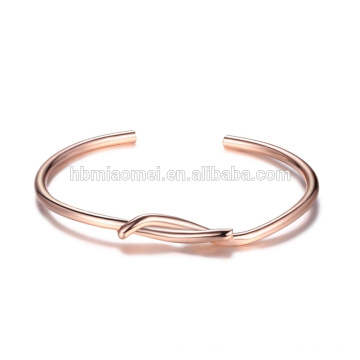 OEM Italie Design coeur bracelet en cuir de charme en gros