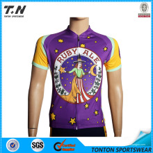 2015 Vente en gros Chine Custom Cycling Jersey Fabricant