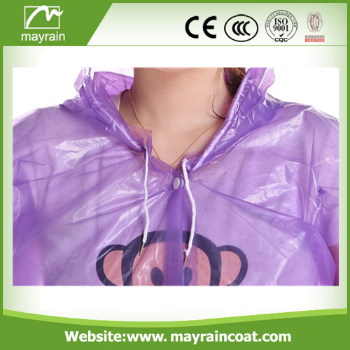Violet PE Adult Raincoat