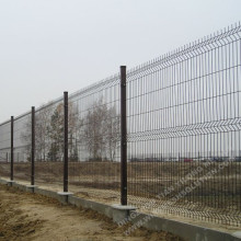 1230mm 3D Curved Fence Panel For Garden