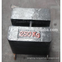 Kingtype cast iron 250kg load test weights