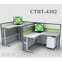 Ottawa L Form Stahl höhenverstellbare Schreibtisch Büromöbel Gartenmöbel