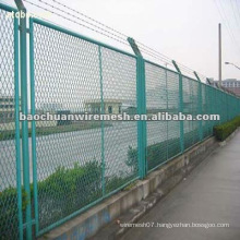 Galvanized expanded metal/protecting fence with reasonable price in store(manufacturer)