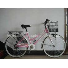 Vélo de ville à bicyclette Lady 6 vitesses (CB-013)
