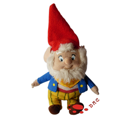 santa claus plush doll
