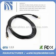 Cable de audio estéreo M / M 5m para iPod para iPhone PC MP3 Cables AV