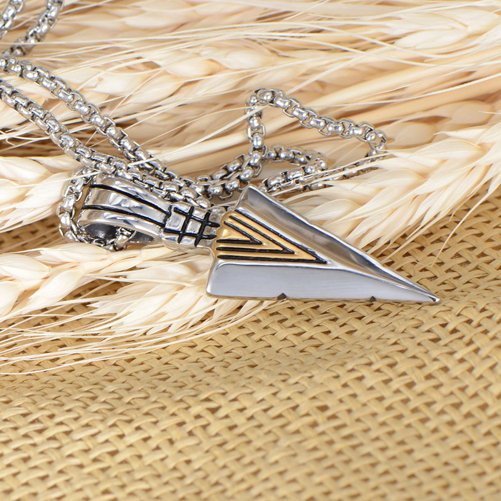 Fashion Stainless Steel Arrow Shape High-quality Pendant