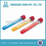 Round Bottom,Food Grade,Plastic Test Tube With Screw Cap                                                                         Quality Assured