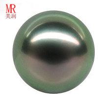 Perla suelta negra de Tahitiana redonda de 13mm