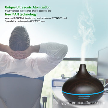 ขายสปาผิวขาว Bamboo Ultrasonic Aroma Humidifier 400ml