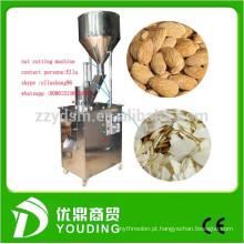 Fornecimento de fábrica 300 kg / h amêndoa slicer / amêndoa máquina de corte
