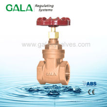 NRS threaded high pressure steam bronze gate valves dimensions