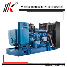 Weichai 360kw 400kw 500kw 600kw 720kw 800kw 900kw 1000kw groupe électrogène diesel Baudouin