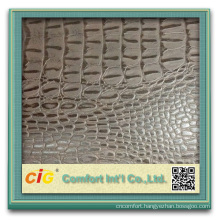 popular design strong backing pu coated artifical leather for shoes