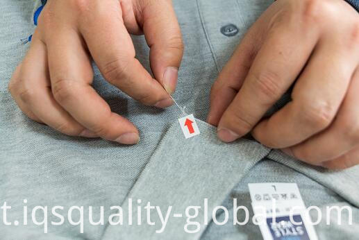 INSPECTION FOR GARMENT PRODUCTS