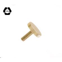 Vis moletée à tête plate M5 Vis DIN653