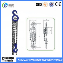 Able Round Hand Tools Manual Sk Chain Block