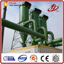 Cyclonic dust collector dust extraction design