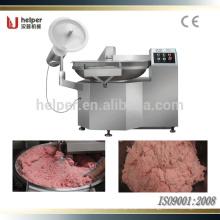 Maquinaria auxiliar cuenco de carne al vacío cuchillo cortador de cucharas Chopper