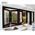 Nouvelle conception européenne Style cuisine fenêtre pliante grill en aluminium
