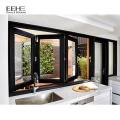 New design European Style  kitchen folding window aluminum  grill