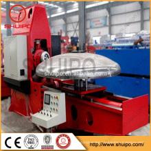 2017 SHUIPO machine Hydraulic Pressure Vessel Dish Head Spinning Machine Fuel Tank Dish Making Machinery
