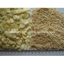 Déshydrate de flocons d'ail et de granulés 8-16mesh Grade a