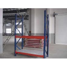 Prateleiras de armazenamento de metal de alta qualidade com tamanho e cor diferentes