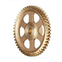 Custom Brass Worm Wheel for Convertable Top Cars