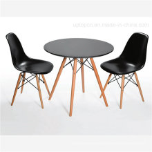 Factory Price Popular Plastic and Beech Eames Table (SP-GT188)