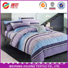 Tinta y tela de cama de algodón puro elegante utilizado para la venta
