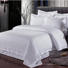 Die Hotel-Sammlung Bestes ägyptisches Baumwoll-Streifen-Bettwäsche-Set