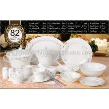Alemania Japón 82PCS cena de cerámica real de la porcelana de la mini placa de wedgewood fijada