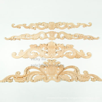 High quality and exquisite carved flowers upholstery