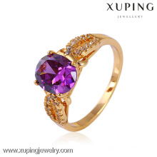 11442-Xuping Jóias Moda Feminina Anéis anel de pedras preciosas