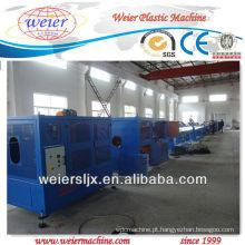 máquina da tubulação de água do hdpe da extrusora de único parafuso