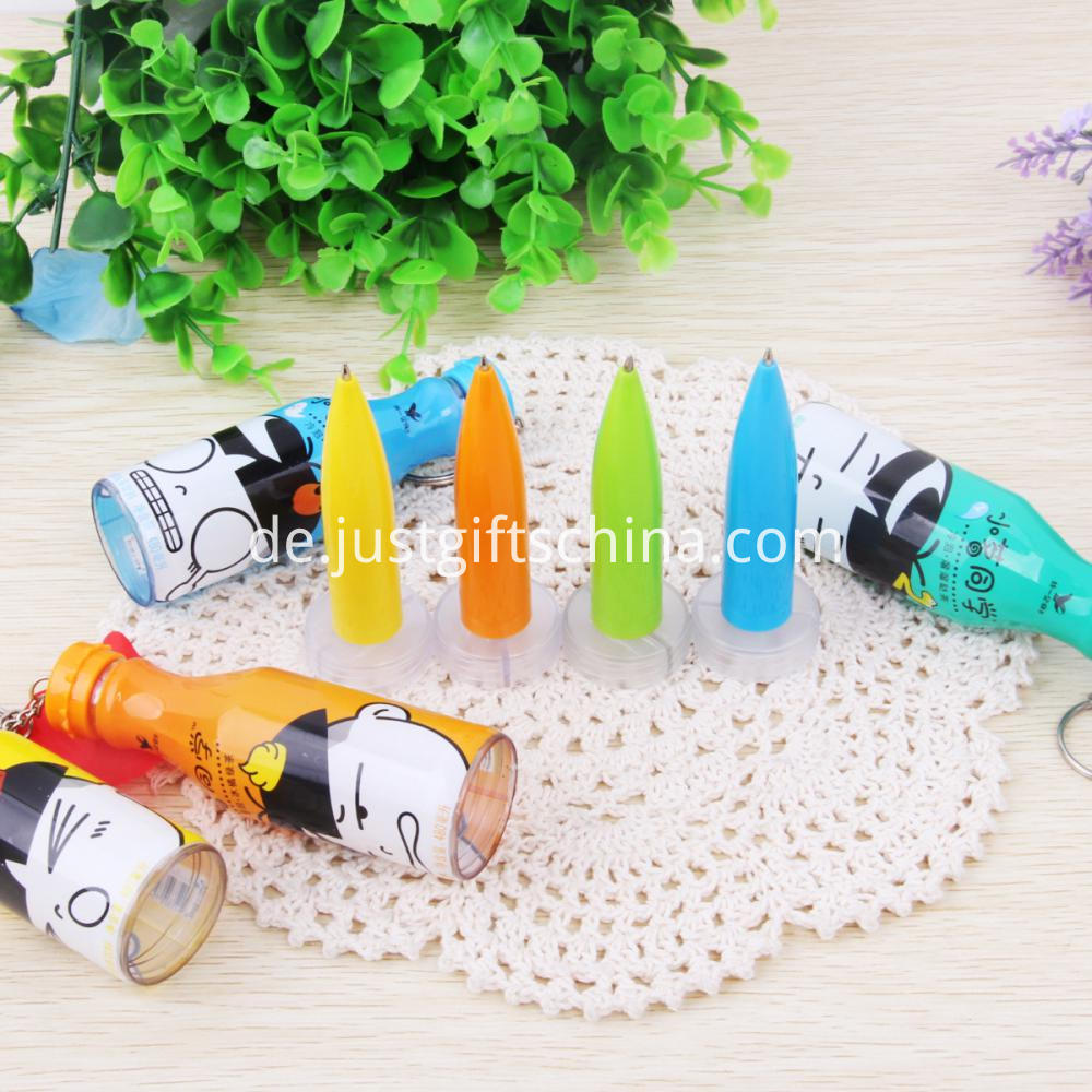 Promotional Bottle Shaped Pens