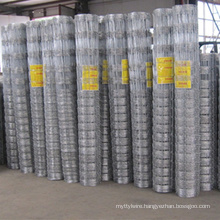 Electrifiable 4 Strand Woven Wire Fencing
