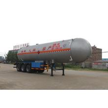 12.5m Tri-axle Liquefied Gas Transport Semi Trailer