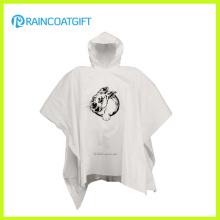 Venda quente barato PE descartável personalizada chuva Ponchos