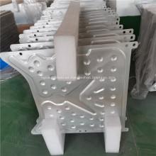 Placa fría de aluminio de refrigeración líquida para panel solar