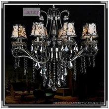 Lámpara colgante de araña decorativa única Gun Black