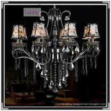 Gun black unique decorative chandelier pendant lamp
