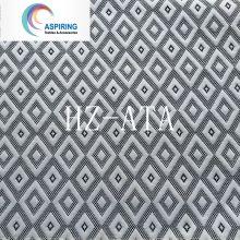 100 Tejido de tela de poliéster Jacquard para cojín de colchón