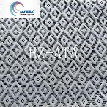 Tissu 100% polyester tissé jacquard pour matelas