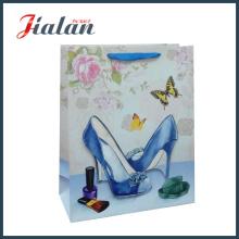 High-Heels Printed Design Cheap Customize Logo Paper Advertising Bag