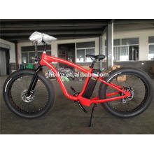 26inch Fat Tire Electric Cruiser Bicycle Big Tyre E Bike Lithium Battery
