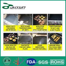 PTFE fibra de vidrio antiadherente resistente al calor hoja de hornear, forro 40 * 60CM del horno