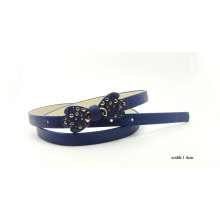 Tie Buckle PU Fashion Belt for Lady (KY5342)